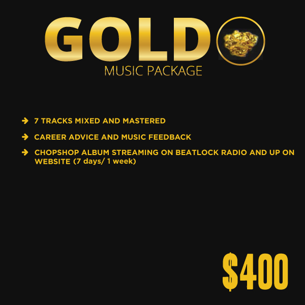 Gold package | mixing-and mastering | Beatlock.net