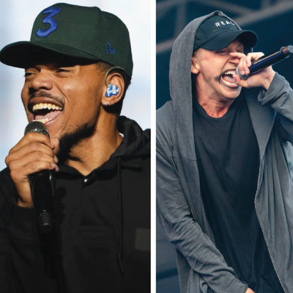 NF Beats Chance The Rapper for #1 Album in the country